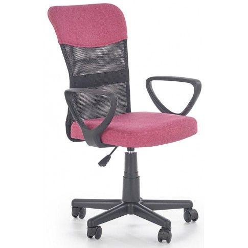 Zdjęcie produktu Fotel dla dziewczynki Chester - różowy.