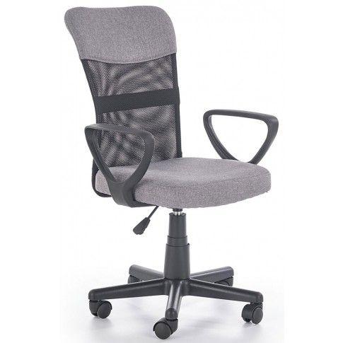 Zdjęcie produktu Wentylowany fotel obrotowy Chester - popielaty.