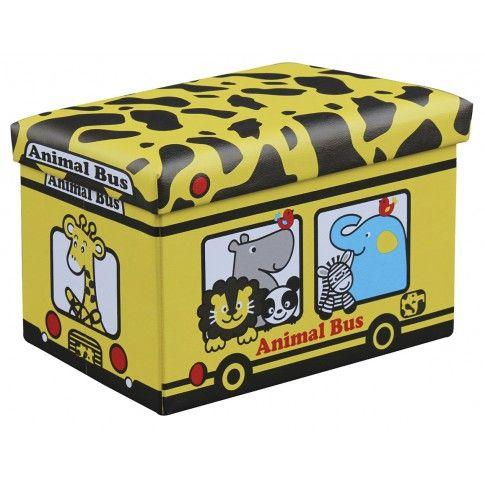 Zdjęcie produktu Pufa dziecięca Vivian - żółta.