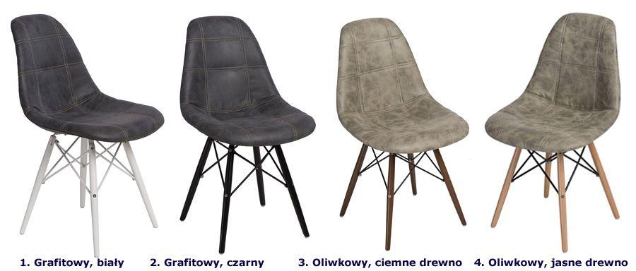 Designerski fotel Roks - pikowany
