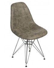 Pikowany fotel Roks 2X - oliwkowy w sklepie Edinos.pl