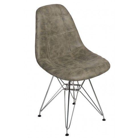 Zdjęcie produktu Pikowany fotel Roks 2X - oliwkowy.