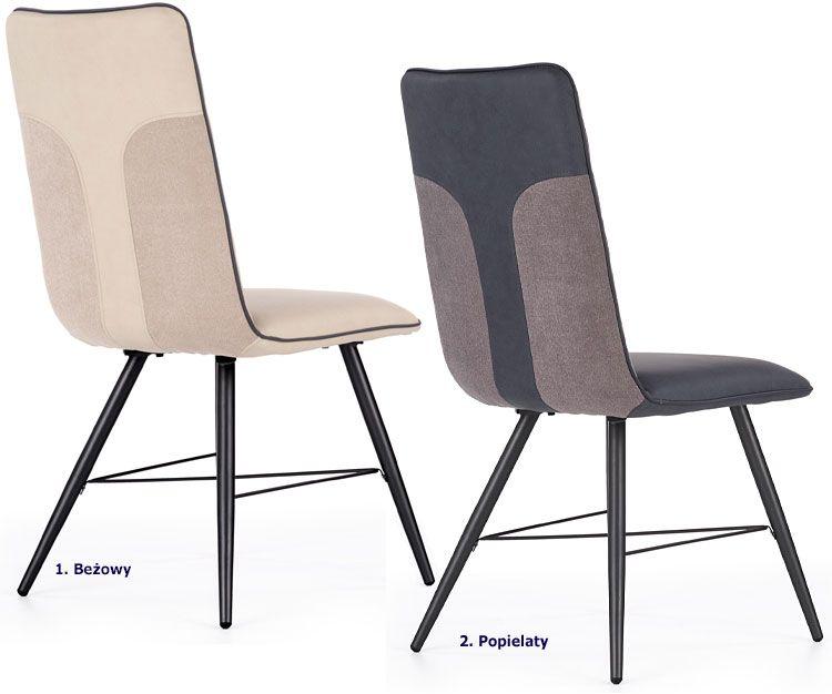 Tapicerowane krzesło w nowoczesnym stylu Mitan