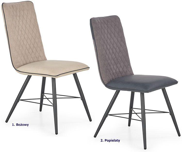 Tapicerowane krzesło kuchenne Mitan