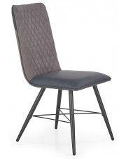 Krzesło tapicerowane Mitan - popielate