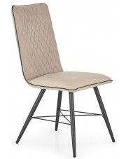 Krzesło tapicerowane Mitan - beżowe