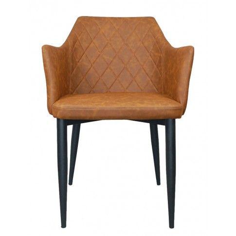 Zdjęcie produktu Fotel Milio - brązowy.