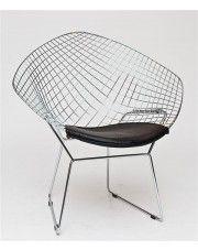 Krzesło Luis 3X - czarne w sklepie Edinos.pl
