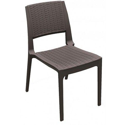 Zdjęcie produktu Krzesło Ario - brązowe.