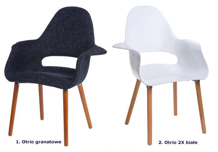 Stylowe krzesło Otrio - modernistyczne