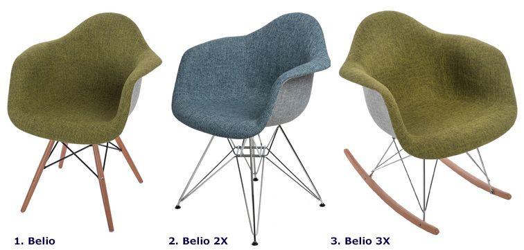 Modny fotel Belio - do salonu