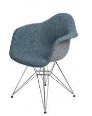 Fotel Belio 2X - niebieski
