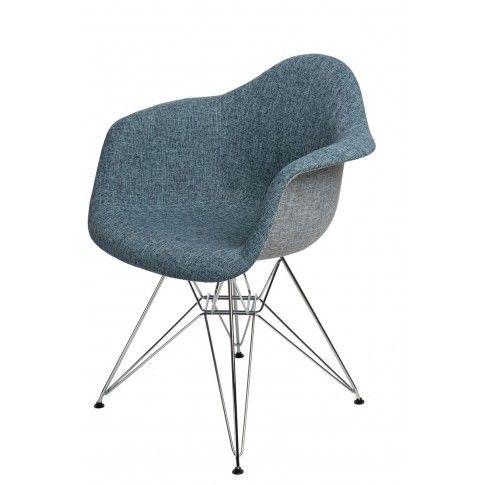 Zdjęcie produktu Fotel muszelka Belio 2X - niebieski.