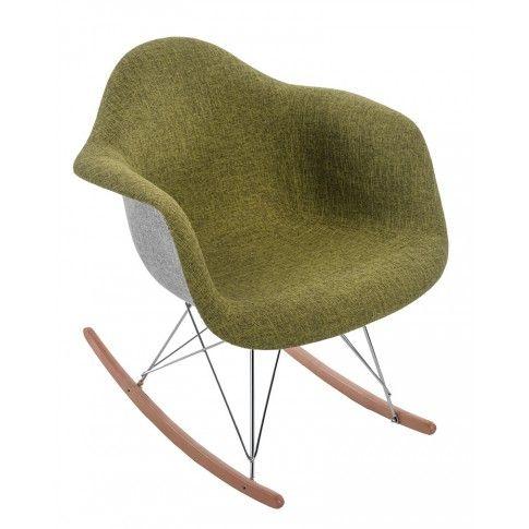 Zdjęcie produktu Bujany fotel Belio 3x - zielony.