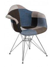 Fotel Bimmi 2X - patchwork w sklepie Edinos.pl