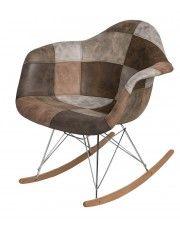 Bujany fotel Bimmi 3X - patchwork w sklepie Edinos.pl