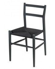 Krzesło Merlone - czarne w sklepie Edinos.pl