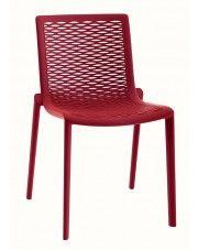 Krzesło Farry 2X - czerwone w sklepie Edinos.pl