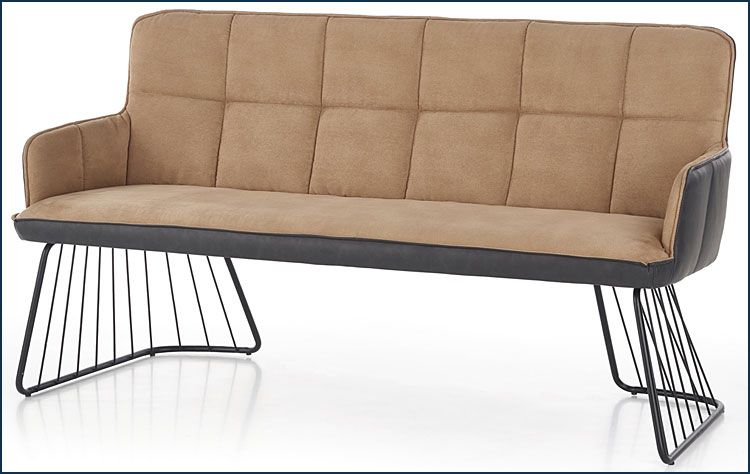 Beżowa sofa do salonu, jadalni, biura Norea