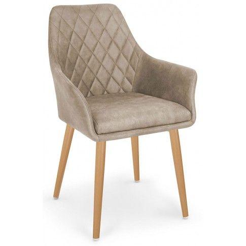 Zdjęcie produktu Krzesło pikowane Syvis - beżowe.