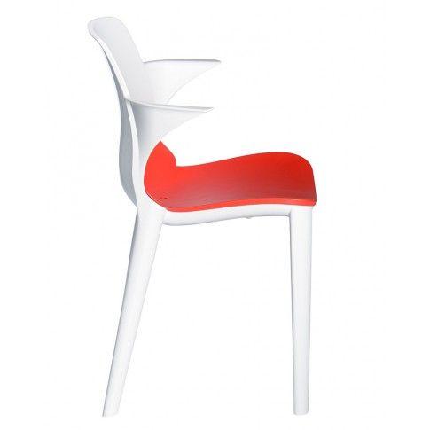 Zdjęcie produktu Krzesło Rommo - białe.