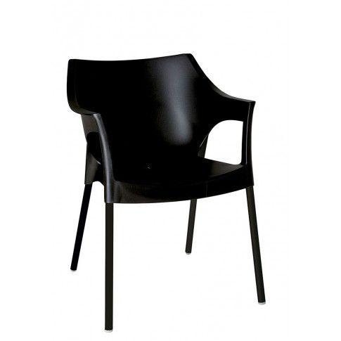 Zdjęcie produktu Krzesło Zafiks - czarne.