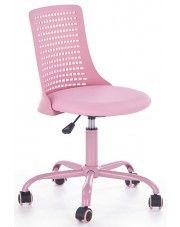Fotel dla dziewczynki Moli - różowy