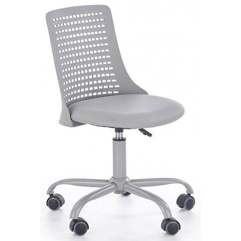 Zdjęcie produktu Młodzieżowy fotel obrotowy Moli - popielaty.
