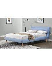 Łóżko Dalmar 140x200 - błękitne