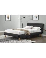 Łóżko Dalmar 160x220 - ciemny popiel