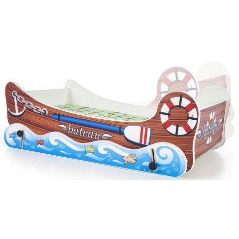 Zdjęcie produktu Łóżko dziecięce z kołyską Hippi - łódka.