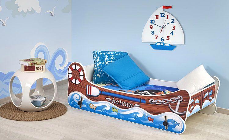 Łóżko łódka dla dziecka z funkcją kołysania Hippi