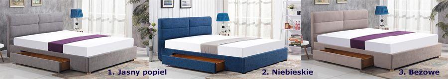 Komfortowe łóżko Laos - z szufladami