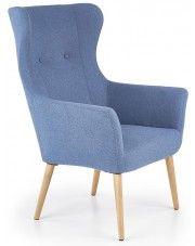 Fotel wypoczynkowy Devan - niebieski