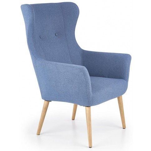 Zdjęcie produktu Fotel wypoczynkowy Devan - niebieski.