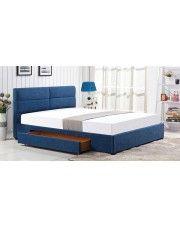 Łóżko Laos 160x200 - niebieskie w sklepie Edinos.pl