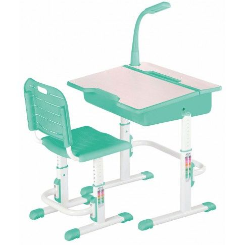 Zdjęcie produktu Biurko z krzesełkiem i lampką Fango.