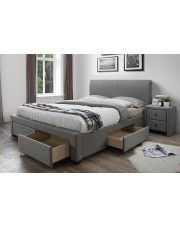 Łóżko Endos 140x220 - szare