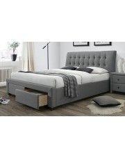 Łóżko Almos 160x200 - szare w sklepie Edinos.pl