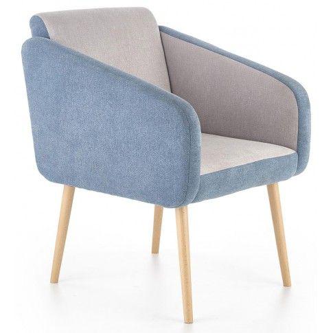 Zdjęcie produktu Fotel wypoczynkowy Levin - niebieski.