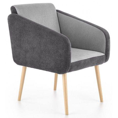 Zdjęcie produktu Fotel wypoczynkowy Levin - popielaty.
