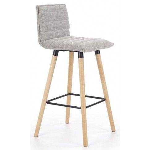 Zdjęcie produktu Hoker drewniany Lextor - popielaty.
