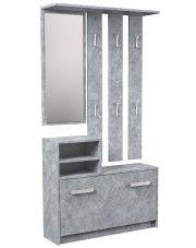 Industrialna garderoba Salma - beton