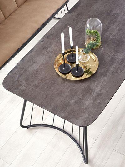 Bazaltowy stół Farel - do jadalni
