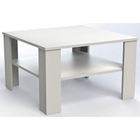 Zdjęcie produktu Kwadratowa ława Livia 2X - biała.