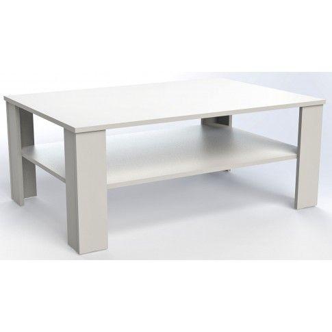 Zdjęcie produktu Prostokątna ława Livia 4X - biała.