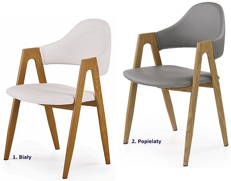 Minimalistyczne krzesło do kuchni, jadalni Ebris