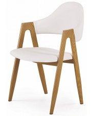 Krzesło Ebris - białe w sklepie Edinos.pl