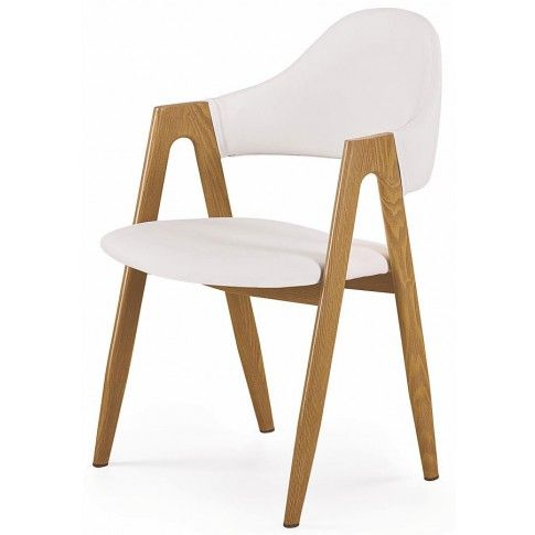 Zdjęcie produktu Krzesło Ebris - białe.