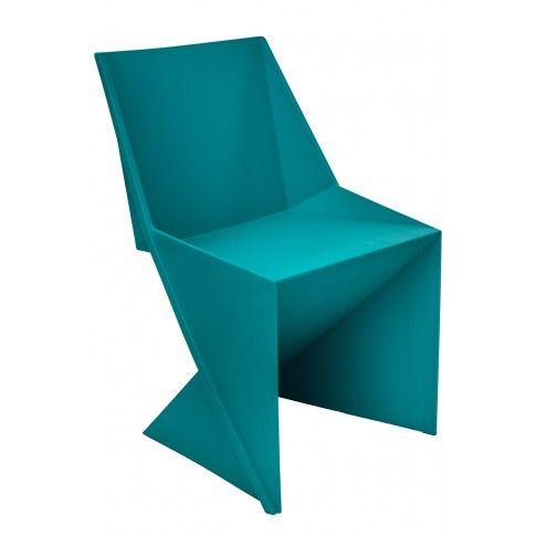 Zdjęcie produktu Krzesło Desiro - niebieskie.